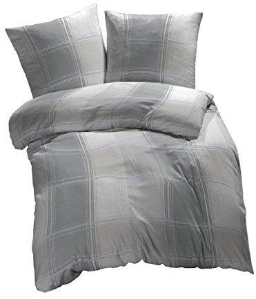 kuschelige bettw sche aus biber grau 155x220 von et rea. Black Bedroom Furniture Sets. Home Design Ideas