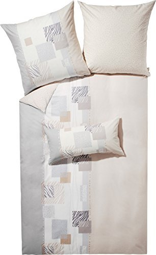 traumhafte bettw sche aus biber grau 155x220 von kaeppel. Black Bedroom Furniture Sets. Home Design Ideas