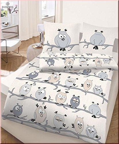 traumhafte bettw sche aus biber grau 155x220 von unbekannt bettw sche. Black Bedroom Furniture Sets. Home Design Ideas