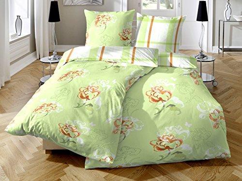 sch ne bettw sche aus biber gr n 135x200 von primera. Black Bedroom Furniture Sets. Home Design Ideas