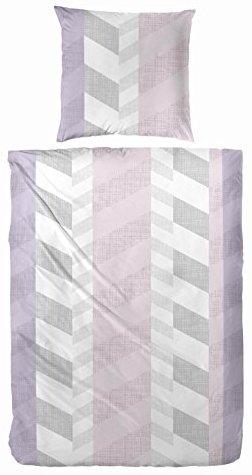 h bsche bettw sche aus biber rosa 135x200 von hahn bettw sche. Black Bedroom Furniture Sets. Home Design Ideas