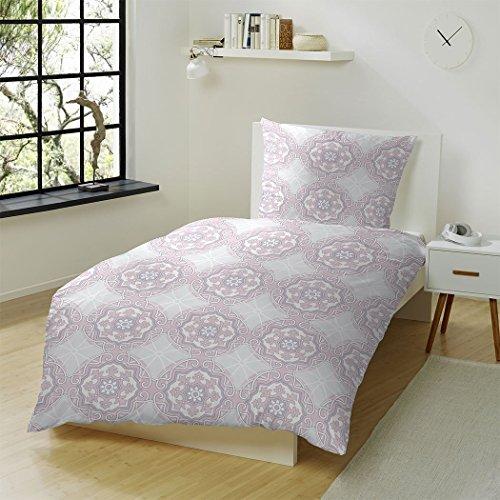 kuschelige bettw sche aus biber rosa 135x200 von hahn haustextilien bettw sche. Black Bedroom Furniture Sets. Home Design Ideas