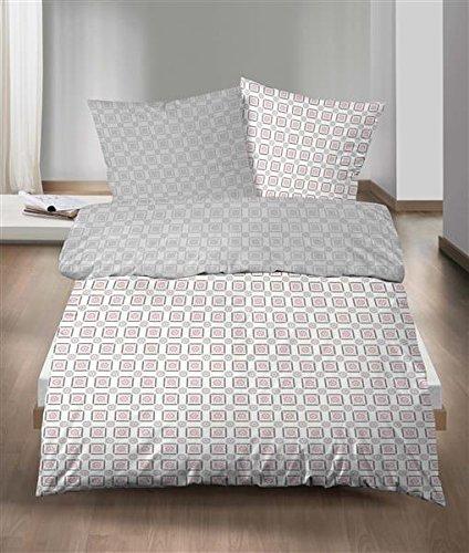 traumhafte bettw sche aus biber rosa 155x220 von castell. Black Bedroom Furniture Sets. Home Design Ideas