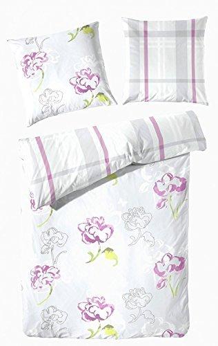 sch ne bettw sche aus biber rosa 155x220 von primera. Black Bedroom Furniture Sets. Home Design Ideas