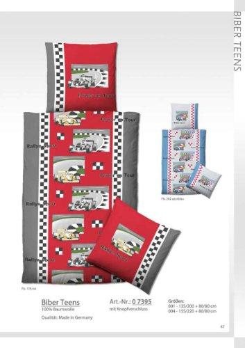h bsche bettw sche aus biber rot 135x200 von biberna bettw sche. Black Bedroom Furniture Sets. Home Design Ideas