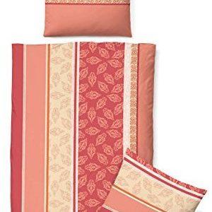 Traumhafte Bettwäsche aus Biber - rot 135x200 von Biberna