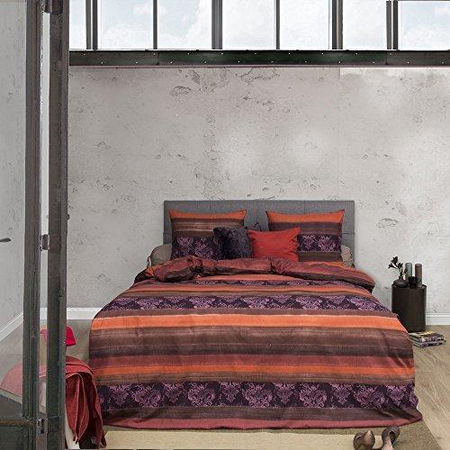 sch ne bettw sche aus biber rot 135x200 von hnl bettw sche. Black Bedroom Furniture Sets. Home Design Ideas