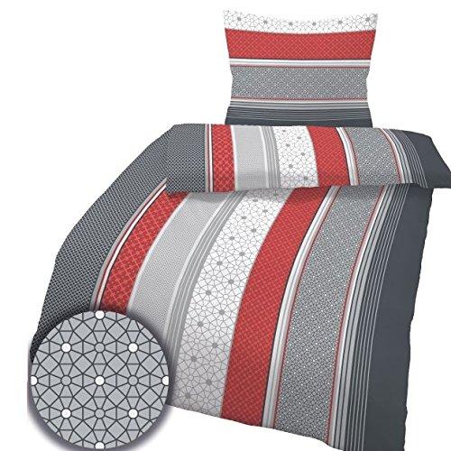 h bsche bettw sche aus biber rot 135x200 von ido bettw sche. Black Bedroom Furniture Sets. Home Design Ideas