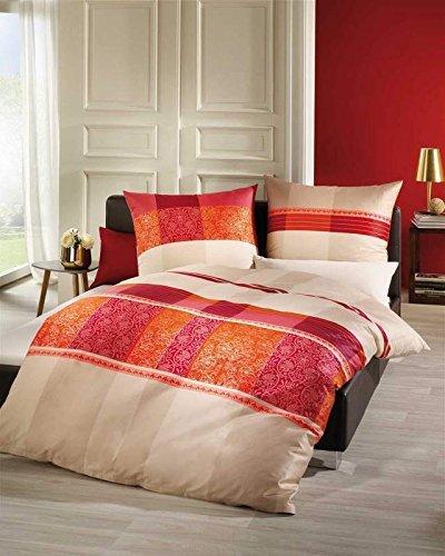 kuschelige bettw sche aus biber rot 135x200 von kaeppel. Black Bedroom Furniture Sets. Home Design Ideas
