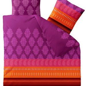 Schöne Bettwäsche aus Biber - rot 200x200 von CelinaTex