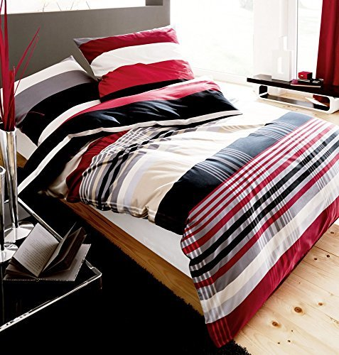 traumhafte bettw sche aus biber schwarz 135x200 von kaeppel bettw sche. Black Bedroom Furniture Sets. Home Design Ideas