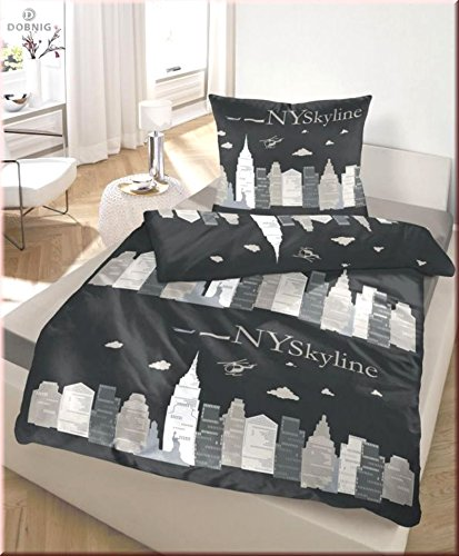 kuschelige bettw sche aus biber schwarz 135x200 bettw sche. Black Bedroom Furniture Sets. Home Design Ideas