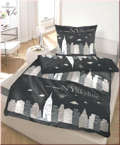 kuschelige bettw sche aus biber schwarz 135x200 von unbekannt bettw sche. Black Bedroom Furniture Sets. Home Design Ideas