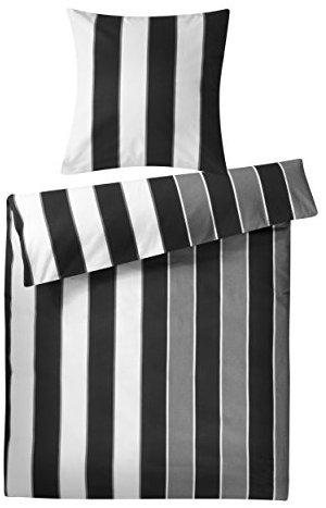 sch ne bettw sche aus biber schwarz 200x220 von genie e. Black Bedroom Furniture Sets. Home Design Ideas