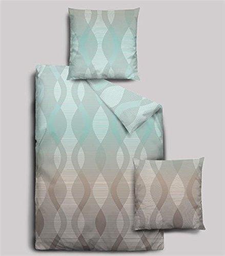 h bsche bettw sche aus biber t rkis 155x220 von dormisette bettw sche. Black Bedroom Furniture Sets. Home Design Ideas