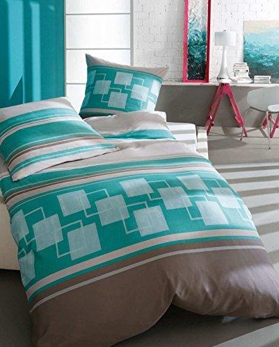kuschelige bettw sche aus biber t rkis 155x220 von kaeppel bettw sche. Black Bedroom Furniture Sets. Home Design Ideas