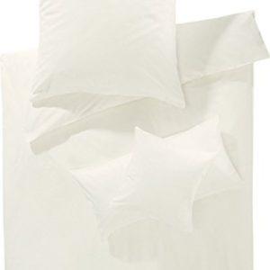 Traumhafte Bettwäsche aus Biber - weiß 135x200 von Erwin Müller