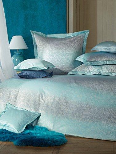 h bsche bettw sche aus damast blau 135x200 von curt bauer bettw sche. Black Bedroom Furniture Sets. Home Design Ideas