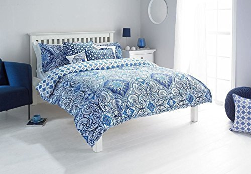 sch ne bettw sche aus damast blau 200x200 von duvet cover bettw sche. Black Bedroom Furniture Sets. Home Design Ideas
