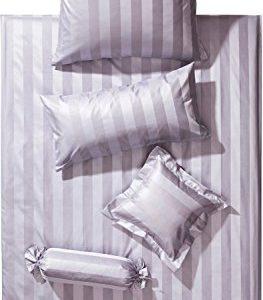 Traumhafte Bettwäsche aus Damast - grau 155x220 von Curt Bauer