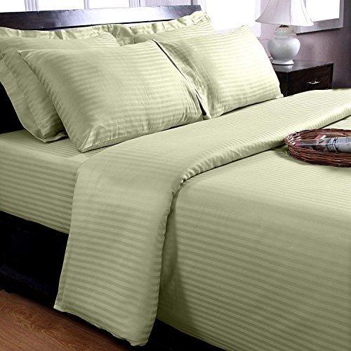 traumhafte bettw sche aus damast gr n 200x200 von homescapes bettw sche. Black Bedroom Furniture Sets. Home Design Ideas