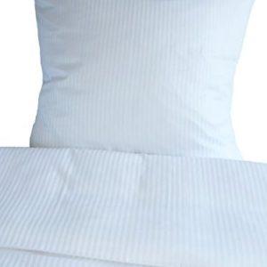 Kuschelige Bettwäsche aus Damast - weiß 135x200 von Unbekannt