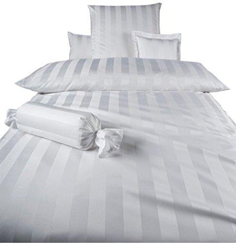 h bsche bettw sche aus damast wei 140x200 von curt. Black Bedroom Furniture Sets. Home Design Ideas
