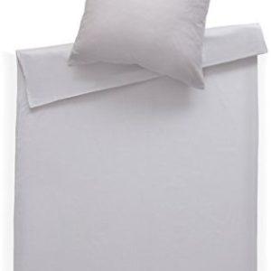 Hübsche Bettwäsche aus Damast - weiß 155x200 von Bettwaesche-mit-Stil