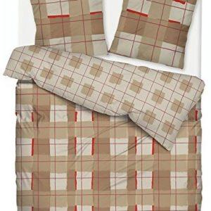 Kuschelige Bettwäsche aus Flanell - 135x200 von ESPRIT
