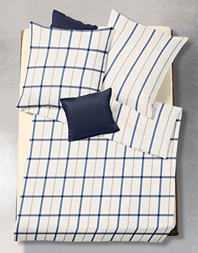 kuschelige bettw sche aus flanell blau 155x220 von fleuresse bettw sche. Black Bedroom Furniture Sets. Home Design Ideas