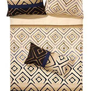 Traumhafte Bettwäsche aus Flanell - braun 135x200 von Erwin Müller
