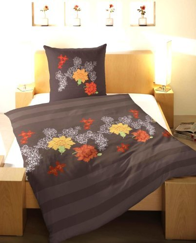 kuschelige bettw sche aus flanell braun 135x200 von primera bettw sche. Black Bedroom Furniture Sets. Home Design Ideas