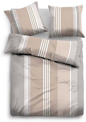 sch ne bettw sche aus flanell braun 135x200 von tom. Black Bedroom Furniture Sets. Home Design Ideas