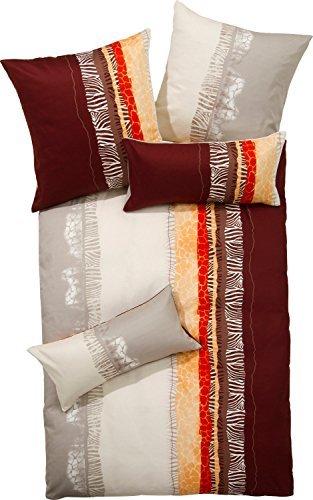 h bsche bettw sche aus flanell braun 155x200 von erwin m ller bettw sche. Black Bedroom Furniture Sets. Home Design Ideas