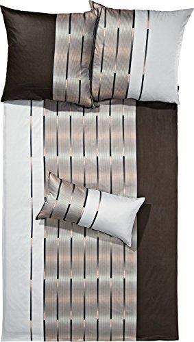 traumhafte bettw sche aus flanell braun 155x200 von. Black Bedroom Furniture Sets. Home Design Ideas