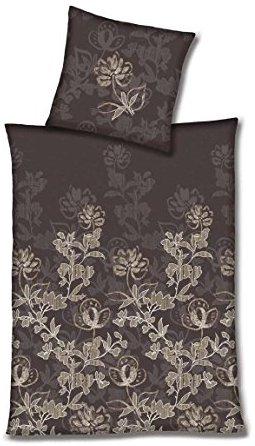 sch ne bettw sche aus flanell braun 200x200 von hahn bettw sche. Black Bedroom Furniture Sets. Home Design Ideas
