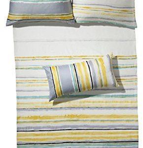 Schöne Bettwäsche aus Flanell - gelb 155x220 von Erwin Müller