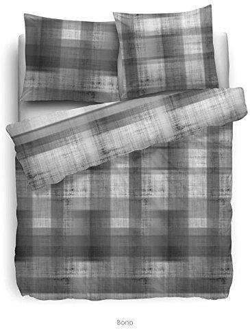 kuschelige bettw sche aus flanell grau 135x200 von hnl bettw sche. Black Bedroom Furniture Sets. Home Design Ideas
