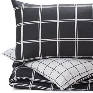 Traumhafte Bettwäsche aus Flanell - grau 135x200 von URBANARA
