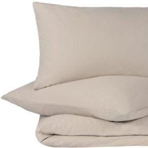 Hübsche Bettwäsche aus Flanell - grau 135x200 von URBANARA
