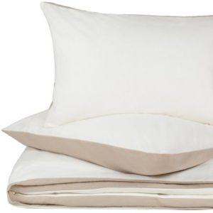 Kuschelige Bettwäsche aus Flanell - grau 135x200 von URBANARA
