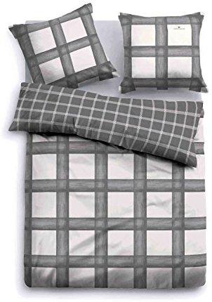traumhafte bettw sche aus flanell grau 155x220 von bettw sche. Black Bedroom Furniture Sets. Home Design Ideas