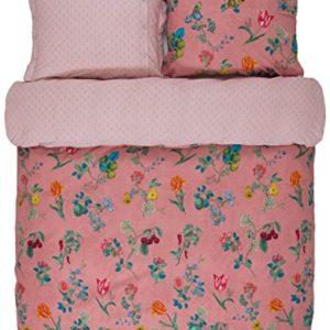 Kuschelige Bettwäsche aus Flanell - rosa 155x220 von PiP Studio
