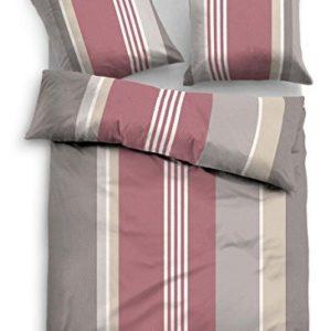 Traumhafte Bettwäsche aus Flanell - rot 135x200 von TOM TAILOR