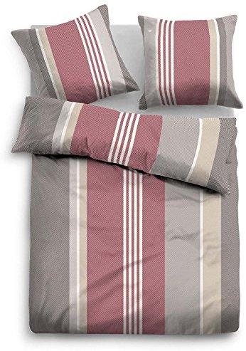 traumhafte bettw sche aus flanell rot 135x200 von tom tailor bettw sche. Black Bedroom Furniture Sets. Home Design Ideas