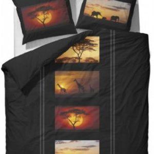 Traumhafte Bettwäsche aus Flanell - schwarz 200x200 von Essenza