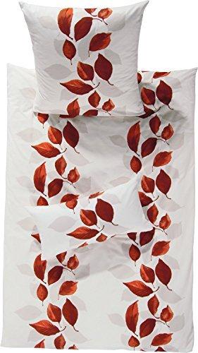 Kuschelige Bettwäsche aus Flanell - weiß 135x200 von Erwin Müller
