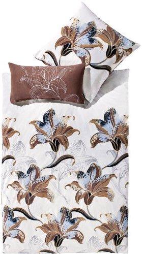 Schöne Bettwäsche aus Flanell - weiß 155x200 von Erwin Müller