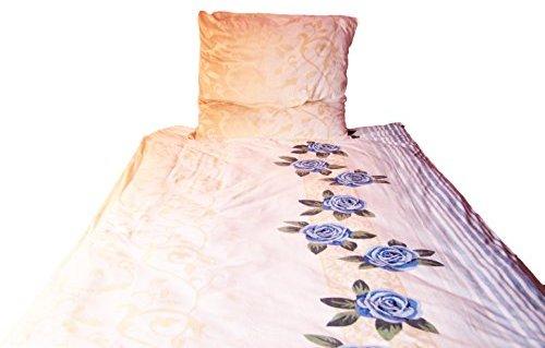sch ne bettw sche aus fleece blau 135x200 von bettenpoint bettw sche. Black Bedroom Furniture Sets. Home Design Ideas