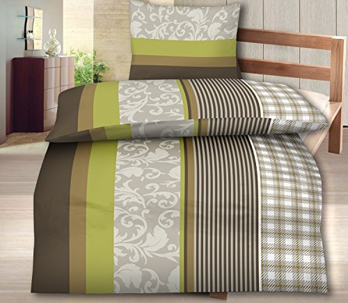 sch ne bettw sche aus fleece braun 155x220 von bettenpoint bettw sche. Black Bedroom Furniture Sets. Home Design Ideas